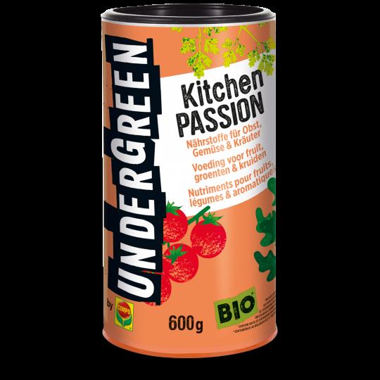 UNDERGREEN Kitchen Passion Langzeitdünger für Obst, Gemüse und Kräuter