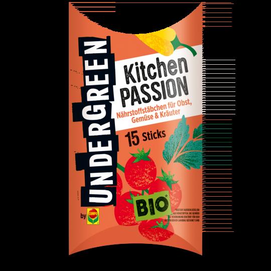 UNDERGREEN Kitchen Passion Düngestäbchen für Obst, Gemüse und Kräuter