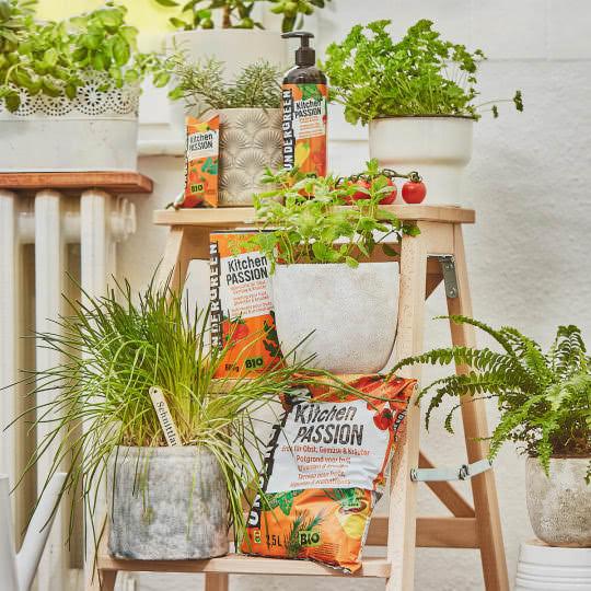 UNDERGREEN Kitchen Passion Range für Kräuter, Obst, Gemüse