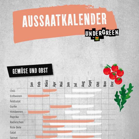 Aussaatkalender